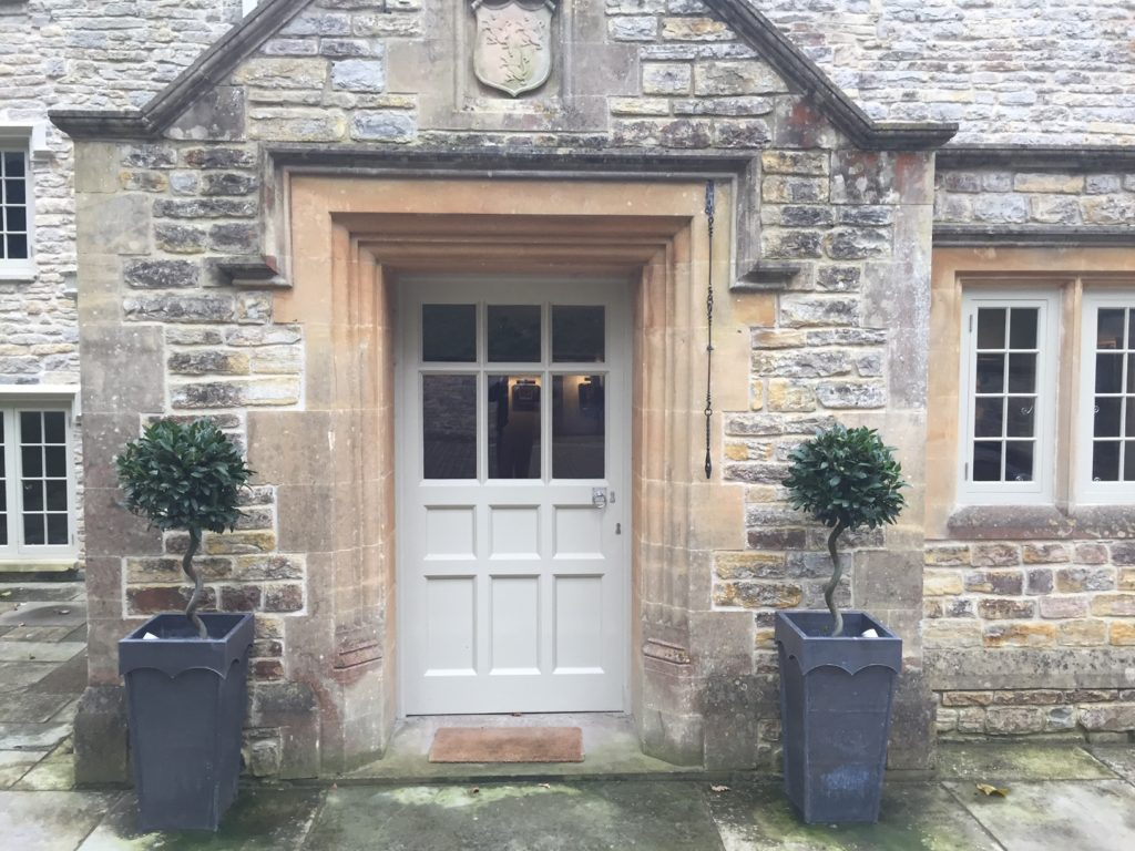 PERRIDGE HOUSE - AWESOME FRONT DOOR