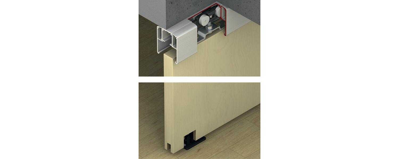 Hafele Slido Classic Sliding Door System