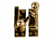 Cardea Cavendish Reeded Straight Arm Sash Fastener