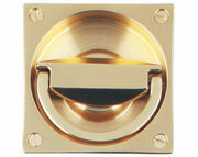 Landsdown Mortice Latch Flush Ring Handle