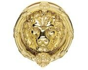 Carlisle Brass Large Lions Head Door Knocker
