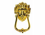 Carlisle Brass Lion's Head Door Knocker