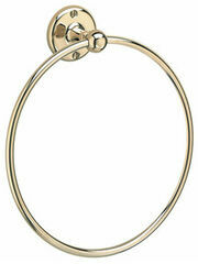 Samuel Heath Curzon Guest Towel Ring - 203mm