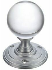 Fulton & Bray Glass Ball Mortice Knob