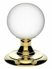 Carlisle Brass Frosted Crystal Ball Knob