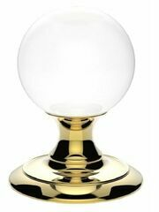 Carlisle Brass Ice Clear Crystal Ball Knob