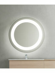 Bathroom Origins Halo Backlit LED Mirror