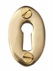 Cardea Open Oval Escutcheon