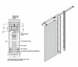 Pocket Hideaway Sliding Door System