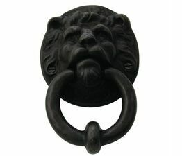 Cardea Lions Head Front Door Knocker