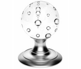 Carlisle Brass Clear Bubble Knob