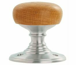 Carlisle Brass Delamain Wooden Knob