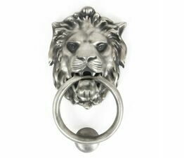 From The Anvil Lion\'s Head Door Knocker
