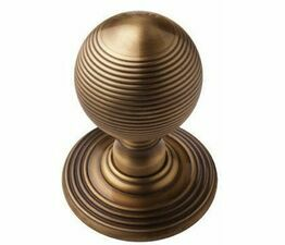 Carlisle Brass Delamain Reeded Ball Mortice Knob