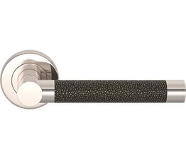 Turnstyle Designs Shagreen Recess Amalfine Lever