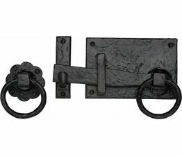 Marcus Tudor Black Iron Gate Latch