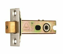 Eurospec Tubular Deadbolt  - 8mm Follower