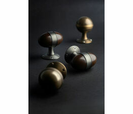 Turnstyle Designs Egg & Saturn Door Knobs