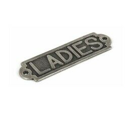 From The Anvil Horizontal 'Ladies' Sign