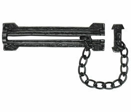 Kirkpatrick Black Iron Security Door Chain