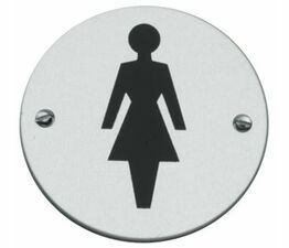 Female Toilet Symbol 76mm
