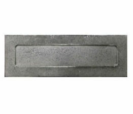 Finesse Pewter Letter Plate