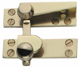 Reeded Straight Arm Sash Fastener