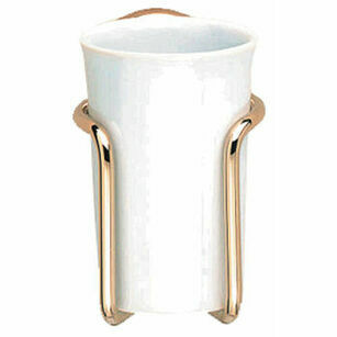 Samuel Heath Curzon Tumbler Holder With China Tumbler