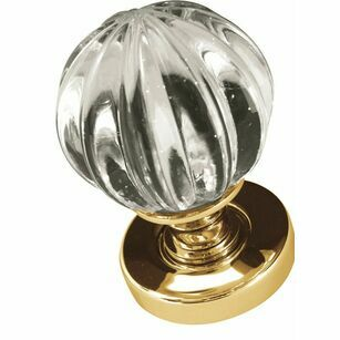 Frelan Pumpkin Glass Knob