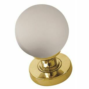 Frelan Frosted Ball Glass Knob