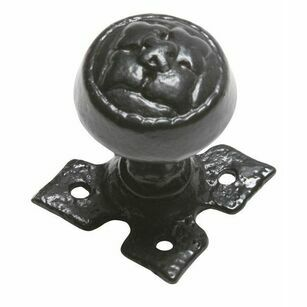 Kirkpatrick Embossed Knob (Decorative Plate)
