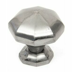From The Anvil Octagonal Cabinet Knob