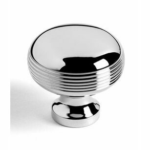 Samuel Heath Reeded Bun Cupboard Knob