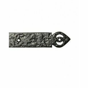 Kirkpatrick Antique Black Strap Hinge