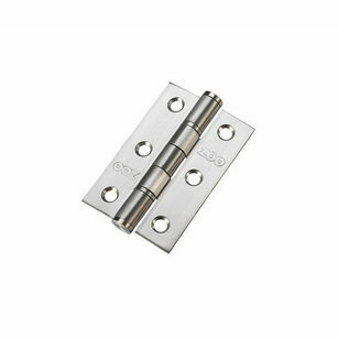 Zoo Washered Stainless Steel Hinge (75mm x 50mm)