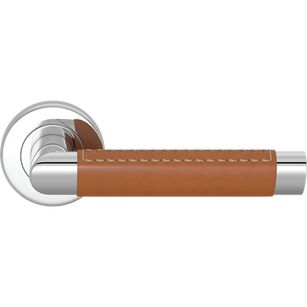 Turnstyle Designs Oval Angle Out Lever Combination Leather