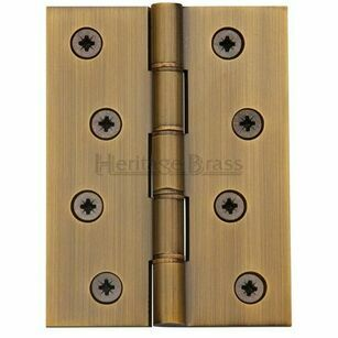 Marcus Brass Hinge with Phosphor Washers Heavy Weight