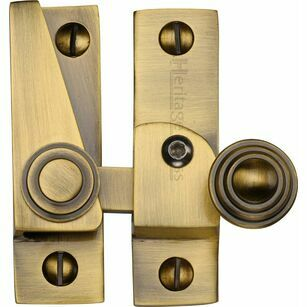 Marcus Lockable Hook Plate Sash Window Fastener