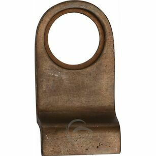 Marcus Solid Bronze Round Cylinder Pull