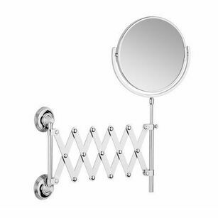 Samuel Heath Style Moderne Extending 5x Magnifying Mirror