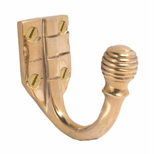 Cardea Cavendish Reeded Coat Hook