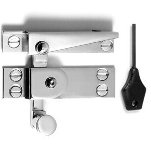Samuel Heath Locking Narrow Sash Window Fastener