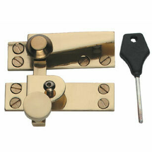 Samuel Heath Plain Knob Locking Sash Fastener