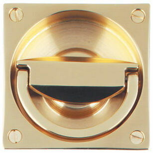 Lansdown Mortice Latch Flush Ring Handle