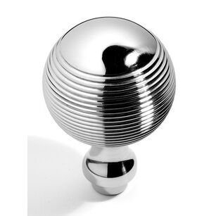 Samuel Heath Reeded Ball Knob