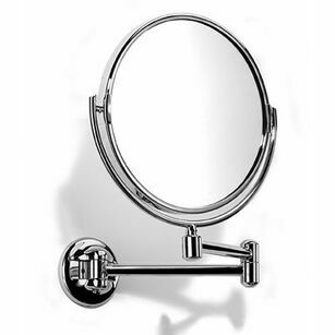 Samuel Heath Novis Pivotal Plain/ Magnifying Mirror - 213mm