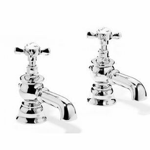 Samuel Heath Antique Bath Tap Set