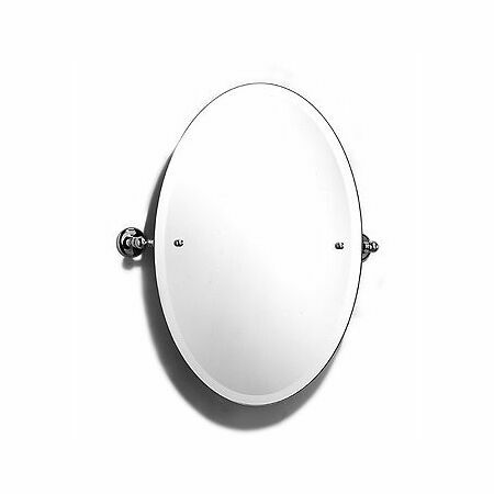 Samuel Heath Classic Large Oval Tilting Mirror From