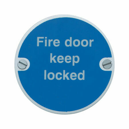 Fire Door Keep Locked 76mm From 163 3 36