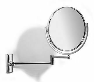 Samuel Heath Novis Pivotal Plain Magnifying Mirror 165mm From